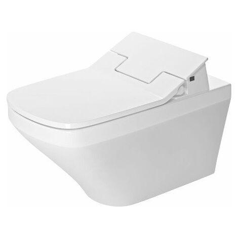 """main image of """"Duravit DuraStyle WC mural Rimless pour SensoWash®, 254259, Coloris: Blanc avec Wondergliss - 25425900001"""""""