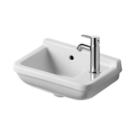 Duravit Hand-rinse basin Starck 3 40cm, tap hole right