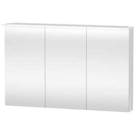 Duravit Happy D.2 mirror cabinet 1200mm, 7596, 3 doors