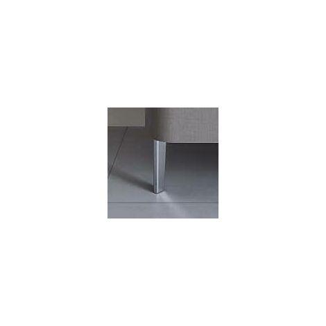 Duravit Happy D.2 Pedestal de 4 piezas, para lavabo de pie, cromado - UV991900000
