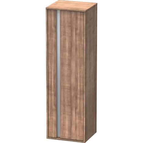 Duravit Ketho Armoire haute 400x1320mm, 1257, 1 porte en bois, charnière à droite, Couleur (avant/corps): Cerisier tessinois - KT1257R7373