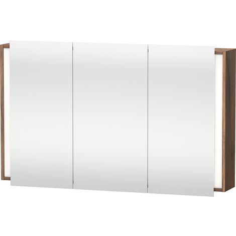 Duravit Ketho mirror cabinet 7533, 1 double mirror door and 1 mirror door, 1200mm