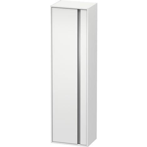 Duravit Ketho Tall cabinet 1265, 1 wooden door, stop left, 500x1800mm