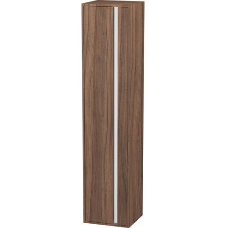 Duravit Ketho Tall cabinet 400x1800mm, 1255, 1 wooden door, left hinge