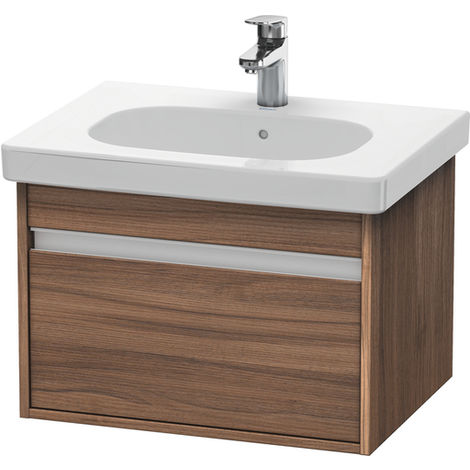 Duravit Ketho Vanity unit wall-hung 6670, 1 pull-out, 600mm, for D-code