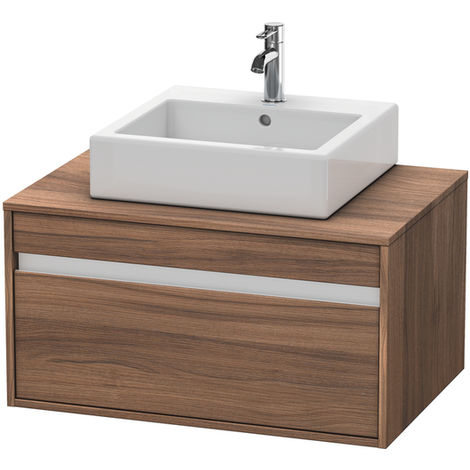 Duravit Ketho vanity unit wall hung 6694, 1 drawer, 800mm, for 1 top basin in the middle