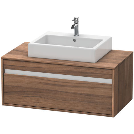 Duravit Ketho vanity unit wall hung 6695, 1 drawer, 1000mm, for 1 top basin in the middle