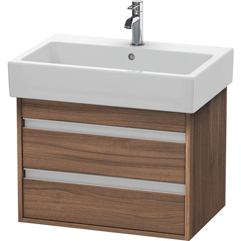 Duravit Ketho Vanity unit wall-mounted 6624, 2 drawers, 650mm, for Vero