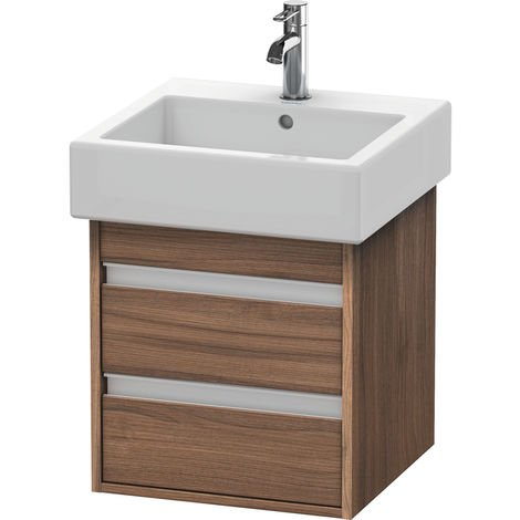 Duravit Ketho Vanity unit wall-mounted 6635, 2 drawers, 450mm, for Vero