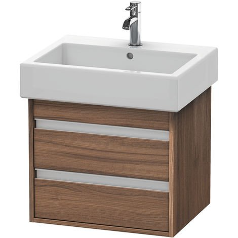 Duravit Ketho Vanity unit wall-mounted 6636, 2 drawers, 550mm, for Vero
