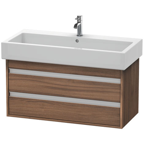 Duravit Ketho Vanity unit wall-mounted 6638, 2 drawers, 950mm, for Vero
