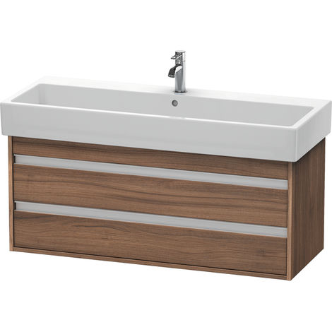 Duravit Ketho Vanity unit wall-mounted 6639, 2 drawers, 1150mm, for Vero