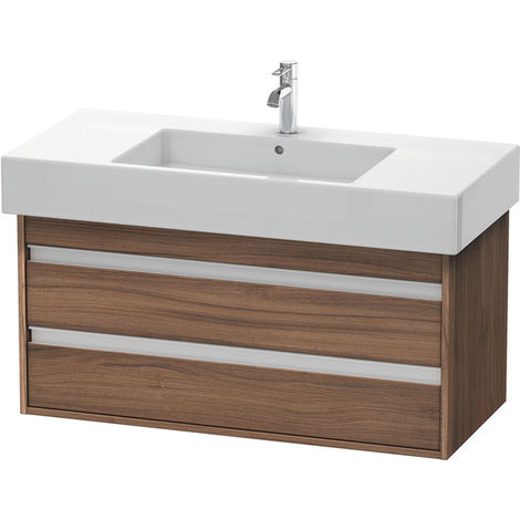 Duravit Ketho Vanity unit wall mounted 6641, 2 drawers, 1000mm, for Vero