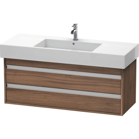 Duravit Ketho Vanity unit wall-mounted 6642, 2 drawers, 1200mm, for Vero