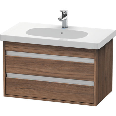 Duravit Ketho Vanity unit wall-mounted 6647, 2 drawers, 800mm, for D-code