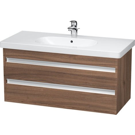 Duravit Ketho Vanity unit wall-mounted 6648, 2 drawers, 1000mm, for D-code