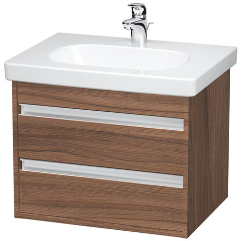 Duravit Ketho Vanity unit wall-mounted 6650, 2 drawers, 600mm, for D-code