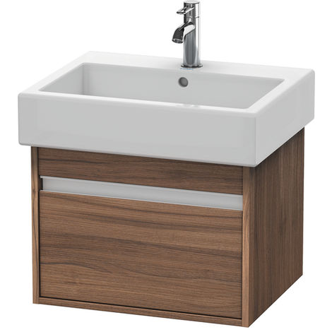 Duravit Ketho Vanity unit wall-mounted 6686, 1 pull-out, 550mm, for Vero