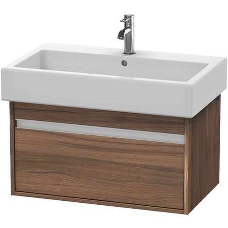 Duravit Ketho Vanity unit wall-mounted 6687, 1 pull-out, 750mm, for Vero