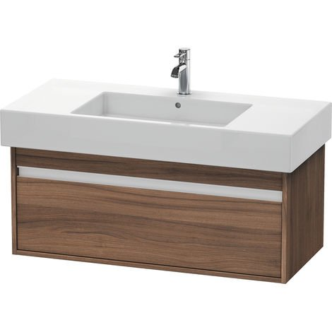 Duravit Ketho Vanity unit wall-mounted 6691, 1 pull-out, 1000mm, for Vero