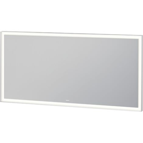 Duravit L-Cube mirror with illumination, width 1400mm, with LED module - LC738400000