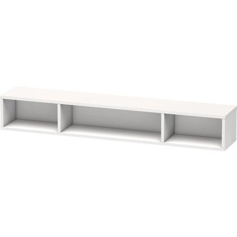 Duravit L-Cube Regalelement, Breite 800mm, Tiefe 140mm, horizontal, 3 Fächer
