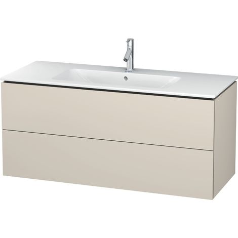 Duravit L-Cube Vanity unit wall-mounted, 2 drawers, width: 1220mm, for Me by Starck 233612