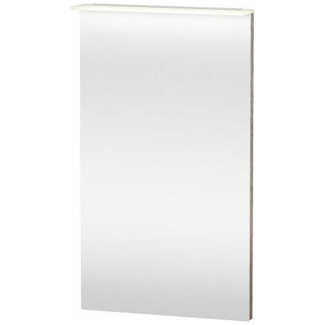 Duravit Miroir Happy D.2 avec éclairage, 500 mm, Coloris: Décor blanc brillant - H2749102222
