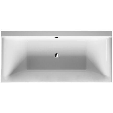 Duravit P3 Comforts baignoire rectangulaire, 190x90cm, deux pentes arrière, 700378, version encastrée - 700378000000000