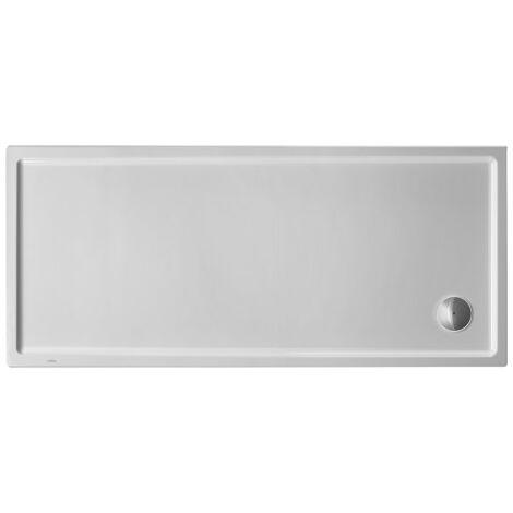 Duravit Receveur de douche rectangulaire Starck Slimline, 160x80 cm, blanc - 720238000000000