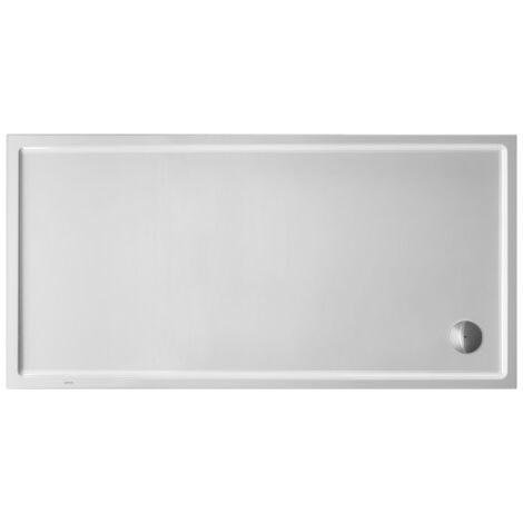 Duravit Receveur de douche rectangulaire Starck Slimline, 180x80 cm, blanc - 720240000000000