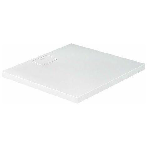 Duravit Receveur de douche Stonetto, rectangulaire, DuraSolid Q, 900 x 800 mm, Coloris: Gris Béton - 720145180000000