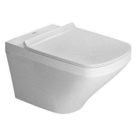 Duravit Stand-WC DuraStyle DuraStyle dos au mur, profondeur 57 cm, finition horizontale, Coloris: Blanc avec Wondergliss - 21500900001
