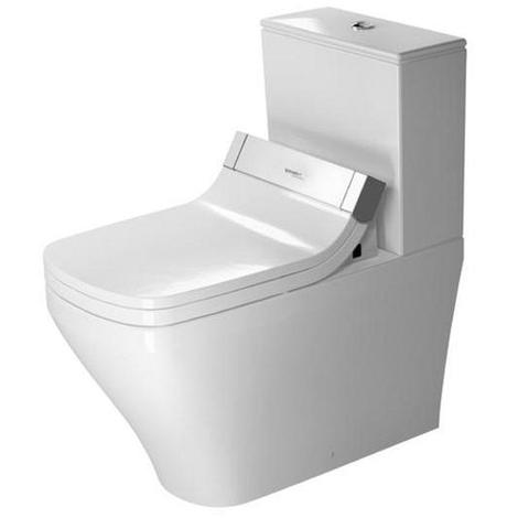 Duravit Stand-WC Durastyle Kombi (ohne Deckel), ohne Spülkasten 720 mm für Sensowash C (ohne Deckel) mit verdecktem Anschluß, weiß, 2156590000