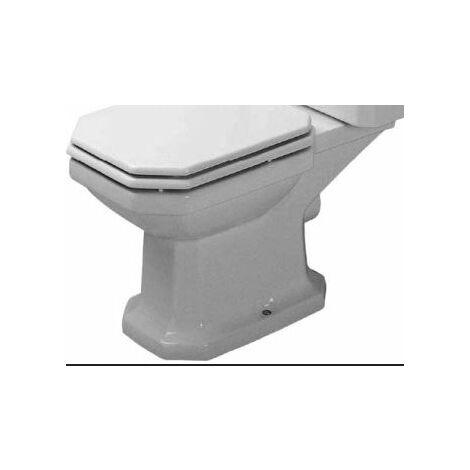 Duravit Stand WC Kombi 1930 ohne Spülkasten, ohne Dekel, weiß mit WG Abgnag waagerecht 227090000