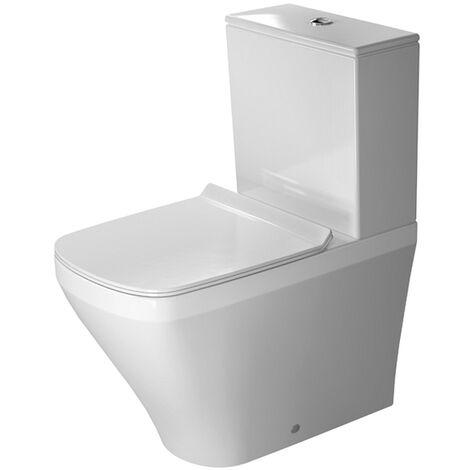 Duravit Stand-WC Kombi Durastyle 630 mm ohne Spülkasten, ohne Deckel, 2155092000
