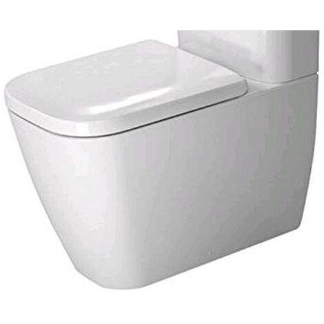 Duravit Stand-WC Kombi Happy D.2 63cm Tiefspüler, für aufgesetzten Spülkasten, Abgang Vario