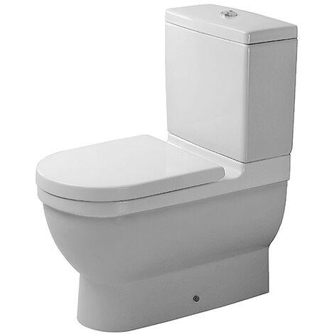 Duravit Stand-WC Kombi ohne Spülkasten, ohne Deckel, Starck 3 128092000