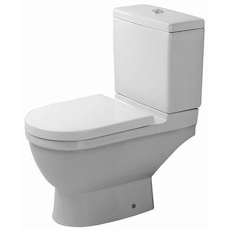 Duravit stand WC Kombi Starck 3 65,5cm, salida horizontal, blanco, color: Blanco con Wondergliss - 01260900001