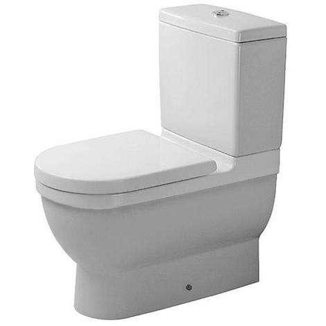 Duravit Stand WC Kombi Starck 3 ohne Spülkasten, ohne Deckel, 28090000, 128090000