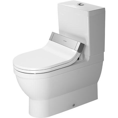 Duravit Starck 3 Stand-WC Kombination für SensoWash®, 214159, color: Blanco con Wondergliss - 21415900001