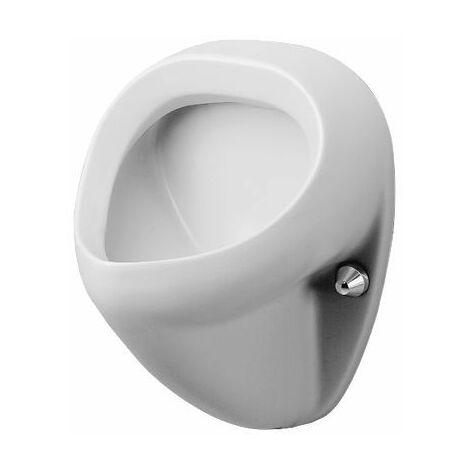 Duravit Urinal Bill, aspiration par l'arrière, sans couvercle, Coloris: Blanc avec Wondergliss - 08513500001