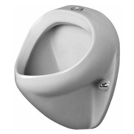 Duravit Urinal Jim, aspiration par le haut, sans couvercle, avec noeud papillon - 0850350007