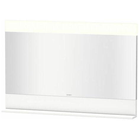 Duravit Vero mirror with bottom shelf, 7514, 1200 mm, Colour (front/body): Chestnut Dark Decor - VE751405353