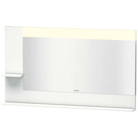 Duravit Vero mirror with shelves on the left and bottom, 7314, 1400mm