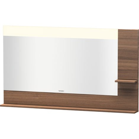 Duravit Vero mirror with shelves on the right and bottom, 7324, 1400mm