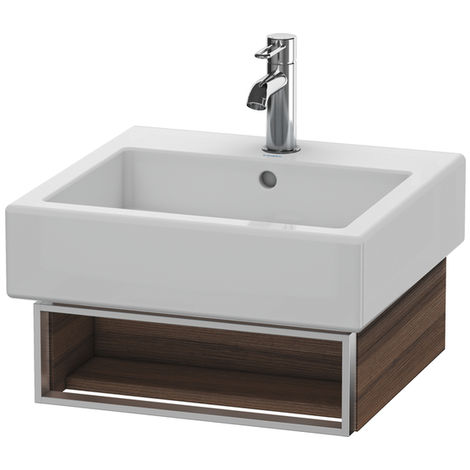 Duravit Vero Vanity unit wall-mounted 6003, with 1 open compartment incl. towel rail, 450mm