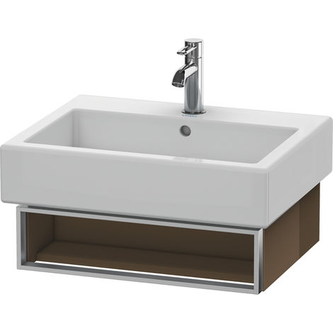 Duravit Vero Vanity unit wall-mounted 6004, with 1 open compartment incl. towel rail, 550mm