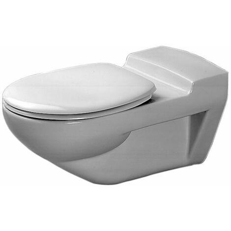 Duravit Wall WC Architec 700mm Ducha lavable, sin barreras, blanca, color: Blanco con Wondergliss - 01900900001