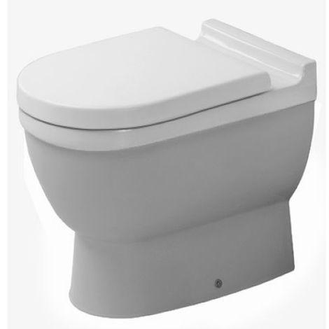 Duravit Wand WC Starck 3 540mm Tiefspüler, Befestigung verdeckt, weiss